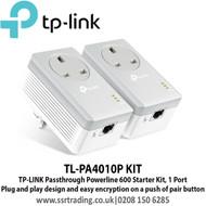 TP-LINK Passthrough Powerline 600AV Pair TL-PA4010P