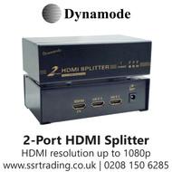 Dynamode 2-Port HD HDMI V 1.4 Splitter Box - HDMI-SP-2