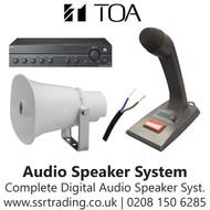 Digital Speaker Audio System Kit Amp Microphone Horn Speaker