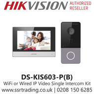 Hikvision Video Intercom Villa Door Station Kit - DS-KIS603-P(B)