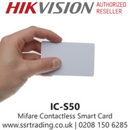 Hikvision Mifare Contactless Smart Card for use with Hikvision Intercom - IC-S50