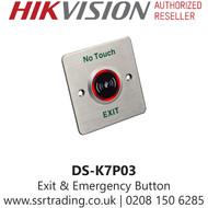 Hikvision Exit & Emergency No Touch Button - DS-K7P03