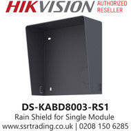 Hikvision Rain Shield for Single Door Station Module - DS-KABD8003-RS1