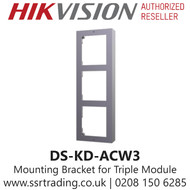 Hikvision Wall Bracket for Triple Modular Door Station - DS-KD-ACW3