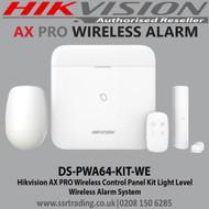 Hikvision AX PRO Wireless Control Panel Kit L Series - DS-PWA64-KIT-WE