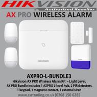Hikvision AX Pro Light Level Wireless Bundle 3 - AXPRO-L-BUNDLE3