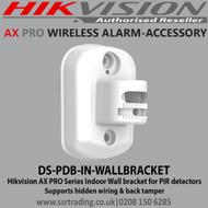 Hikvision AX PRO Indoor Wall bracket for PIR detectors - DS-PDB-IN-WALLBRACKET