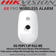 Hikvision AX Pro Wireless Camera PIR - DS-PDPC12P-EG2-WE