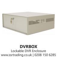 Lockable DVR Enclosure- Internal 510D) x 506(W) x 103(H) - External 540D) x 510(W) x 124(H) - DVRBOX