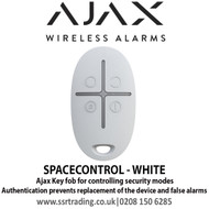 Ajax Key fob for controlling security modes - SPACECONTROL - WHITE