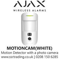 AJAX Motion Detector with a photo camera to verify alarms - MOTIONCAM-WHITE