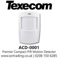 Texecom Premier Compact PIR Motion Detector - ACD-0001