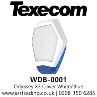 Texecom Odyssey X1 Cover White/blue Hexagon - TEX-WDB-0001