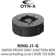 Universal  Grey Junction Box For HD Camera - RING-J1-G