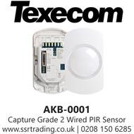 Texecom Capture Grade 2 Wired PIR Sensor - P15 - 15m PIR - AKB-0001