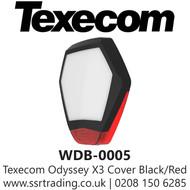 Texecom Odyssey X3 Cover Black/Red - WDB-0005