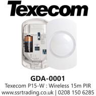Texecom Ricochet Capture P15-W Wireless PIR - GDA-0001