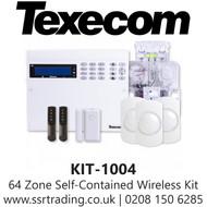 Texecom Capture Ricochet 64-W Live Wireless Kit 4 - Kit-1004
