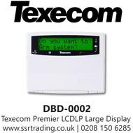 Texecom Premier LCDLP Large Display Prox Keypad - DBD-0002