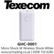 Texecom Premier Elite Ricochet Micro Shock-W Wireless Shock - White - GHC-0001