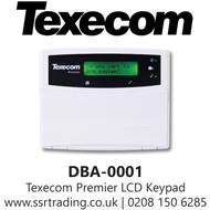 Texecom Premier LCD Keypad - DBA-0001