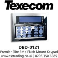 Texecom Premier Elite FMK Flush Mount Keypad - Polished Chrome - DBD-0121