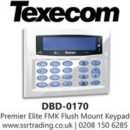 Texecom Premier Elite FMK Flush Mount Keypad - Diamond White - DBD-0170
