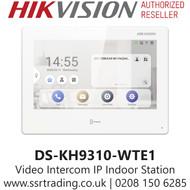 Hikvision Video Intercom Network Indoor Station - DS-KH9310-WTE1