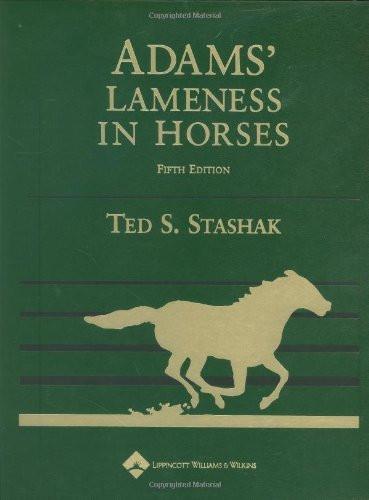 Adams' Lameness In Horses Revised Reprint