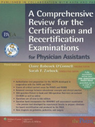 Comprehensive Review For The Certification And Recertification Examinations For Physician Assistants