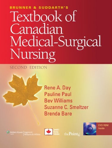 Brunner And Suddarth's Textbook Of Canadian Medical-Surgical Nursing