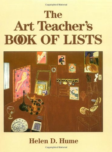 Art Teacher's Book Of Lists