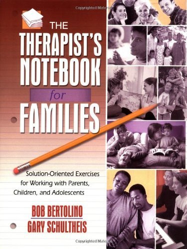 Therapist's Notebook For Families