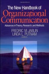 New Handbook Of Organizational Communication