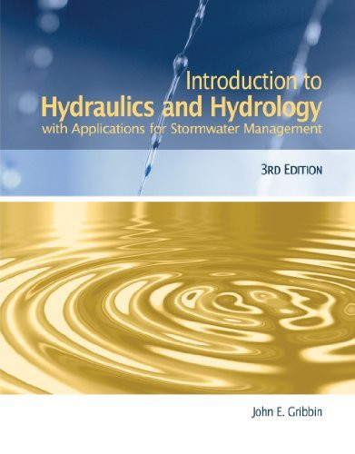 Introduction To Hydraulics And Hydrology