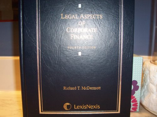Legal Aspects Of Corporate Finance