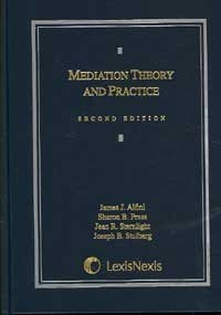 Mediation Theory And Practice