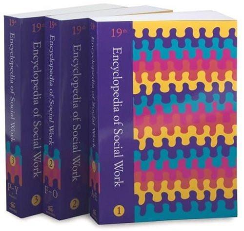 Encyclopedia Of Social Work 3 Volume set