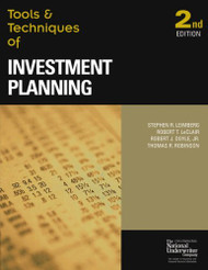 Tools And Techniques Of Investment Planning