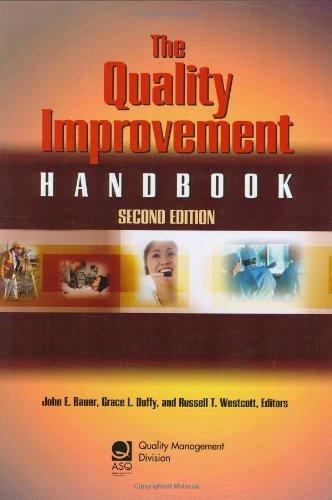 Quality Improvement Handbook
