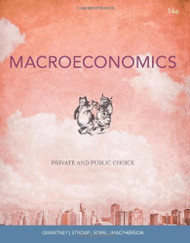 Macroeconomics: Private and Public Choice by James D Gwartney