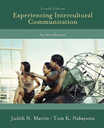 Experiencing Intercultural Communication