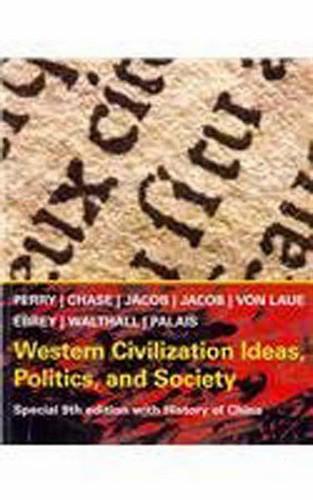 Western Civilization Ideas Politics And Society
