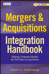 Mergers And Acquisitions Integration Handbook