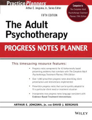 Adult Psychotherapy Progress Notes Planner