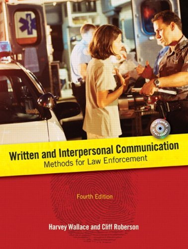Written And Interpersonal Communications