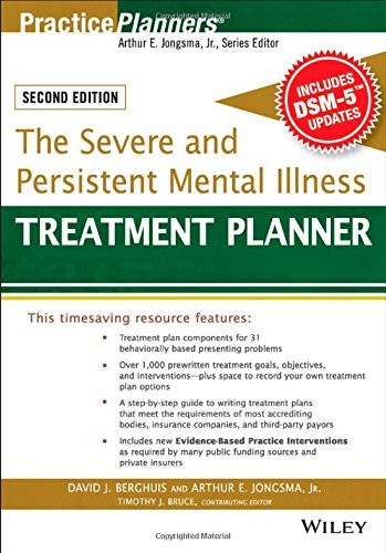 Severe And Persistent Mental Illness Treatment Planner