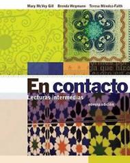 En Contacto Lecturas Intermedias by Gill