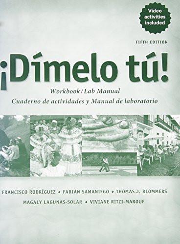 Workbook/Lab Manual For Dimelo Tu!