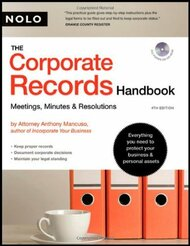 Corporate Records Handbook